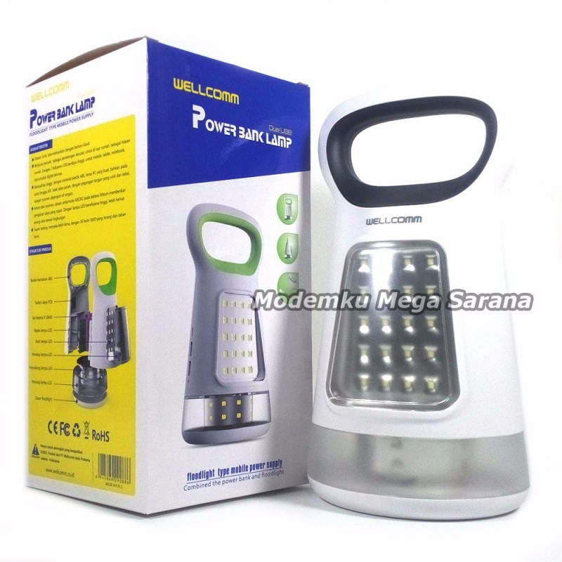 Wellcomm Powerbank Lamp BK216