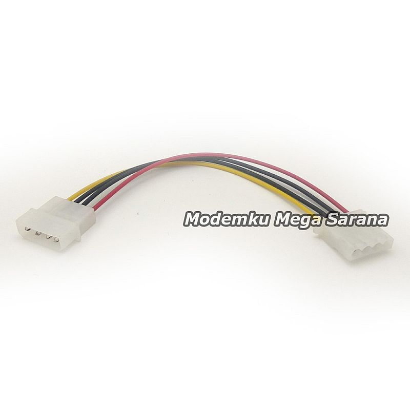 Kabel Adapter Power Supply 4Pin Ide Ata To Floppy Drives Untuk PC