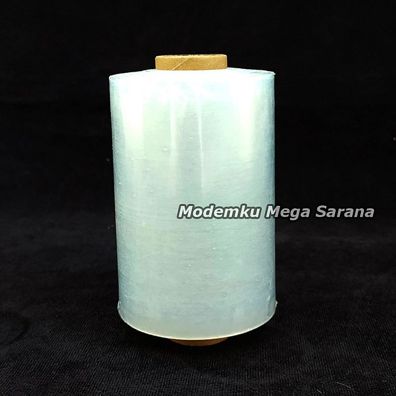 Plastik Wrapping Wrap Stretch Film Lebar 10cm Panjang 250 meter