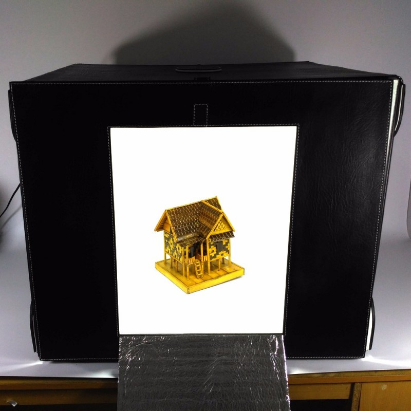 Magicbox MMS60-LED Portable Mini Photo Studio Light Box Lipat - Versi 2